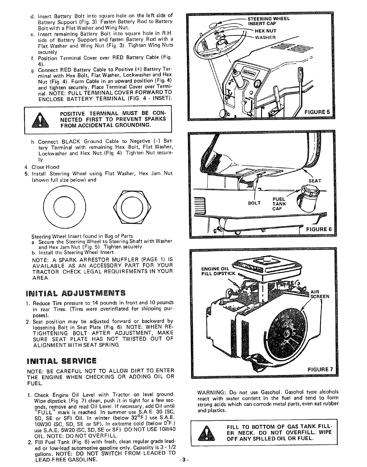 Page 5 of Craftsman Lawn Mower 917 253724 User Guide