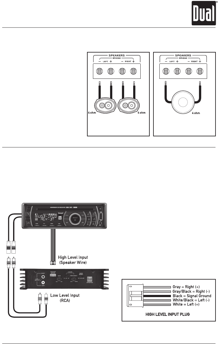 rca plug to speaker wire diagram rca image wiring dual stereo wiring solidfonts on rca plug to speaker wire diagram