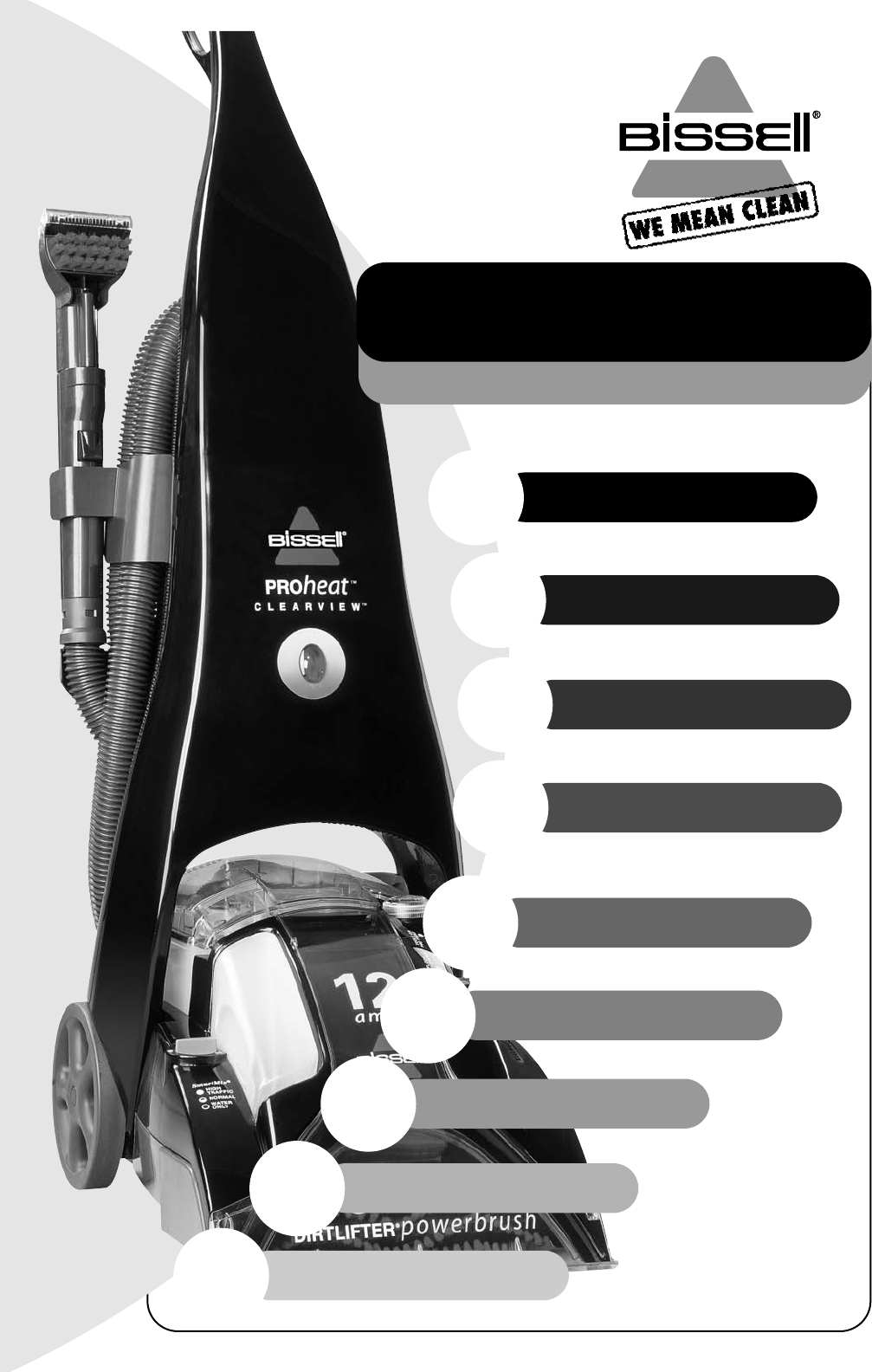 bissell carpet cleaner 8905 user guide manualsonline com rh kitchen manualsonline com Bissell User Manual Bissell PowerForce Vacuum Manual