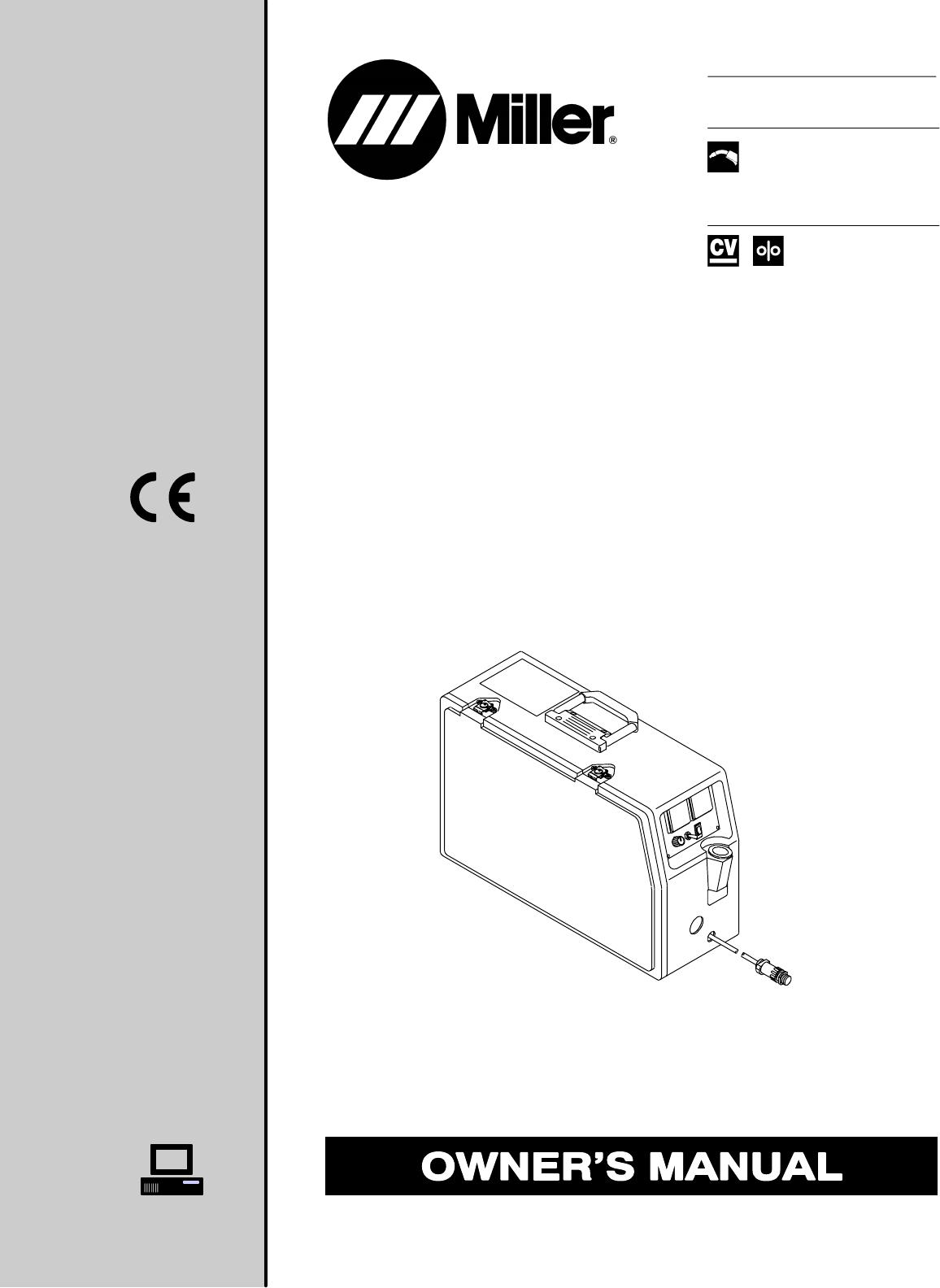 Miller Electric Welder S-22P12 User Guide | ManualsOnline.com