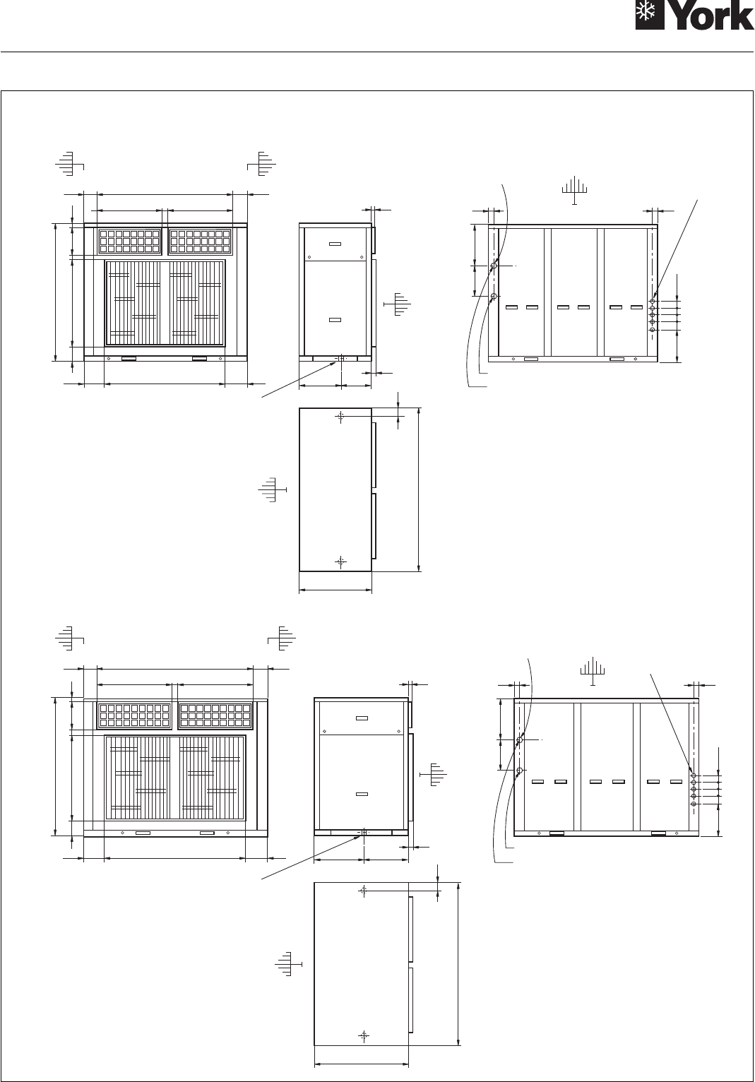 Page 39 of York Heat Pump YLCC 42/62/82/102/112 User Guide ... York Heat Pump Schematic on