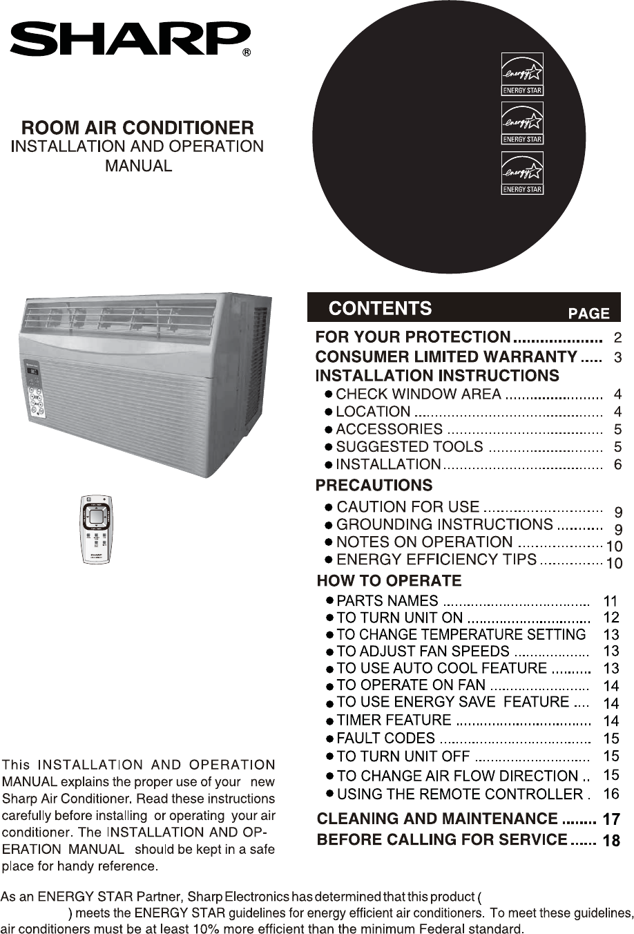 Sharp air conditioner af s85rx user guide manualsonline af s60rx biocorpaavc Choice Image