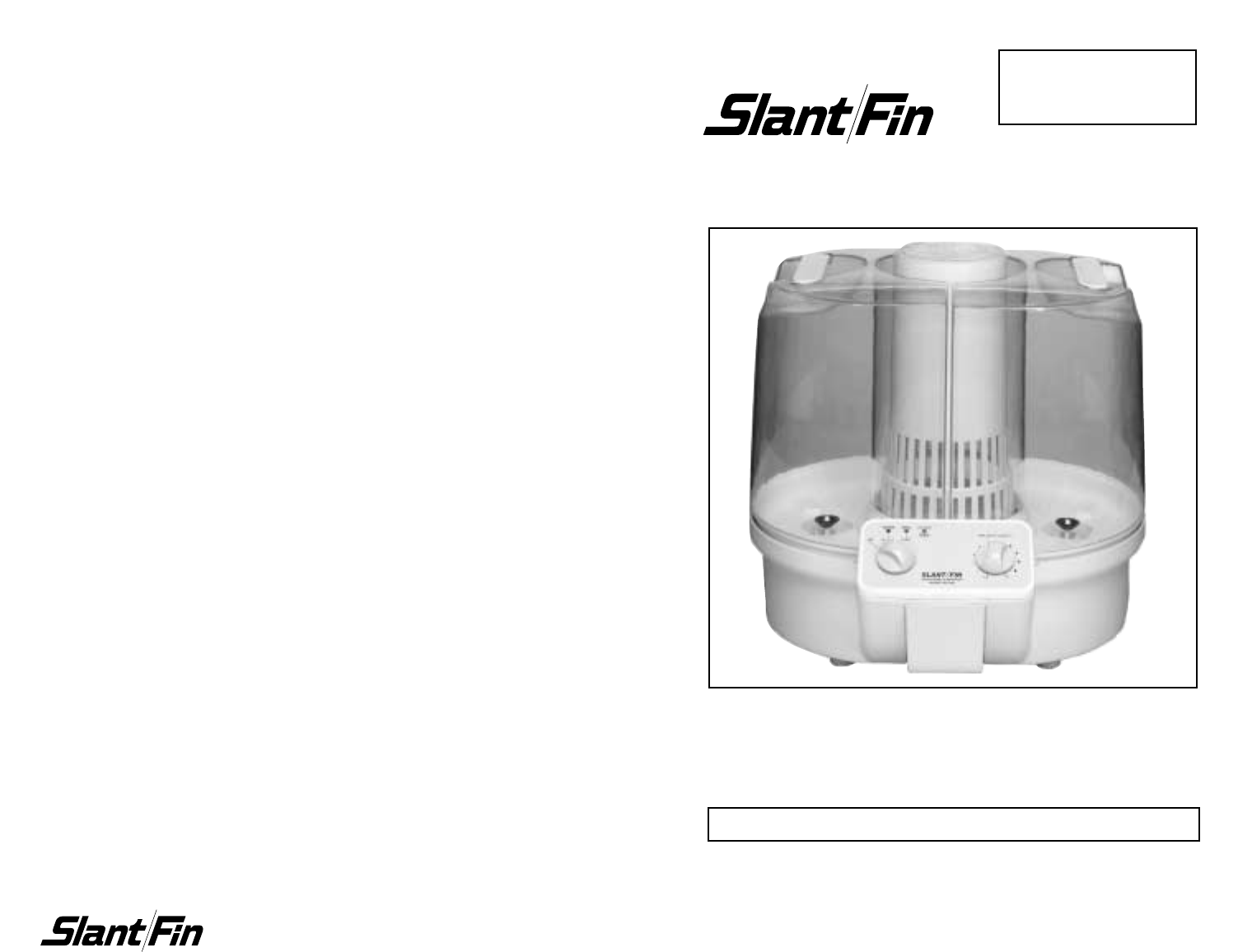 Slant/Fin Humidifier GF 300 User Guide ManualsOnline.com #242424