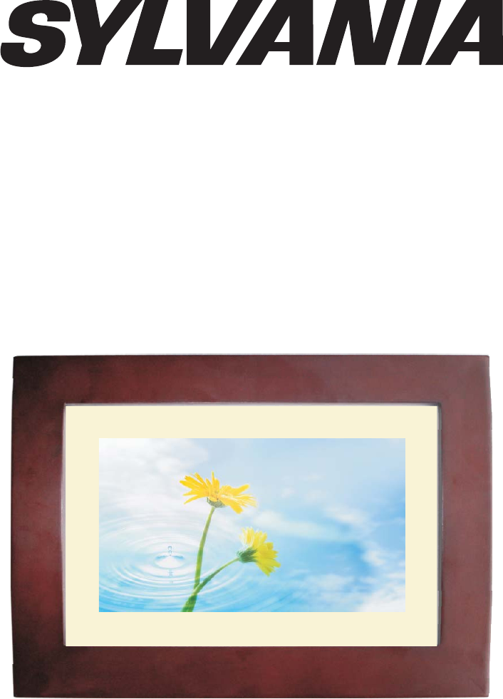 sdpf751b users manual digital photo frame