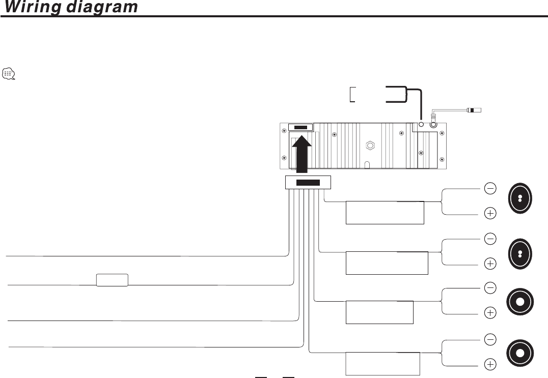 Page 4 Of Pyle Audio Car Stereo System Plcdusmp74 User Guide Wiring Diagram 3 Follow This Easy