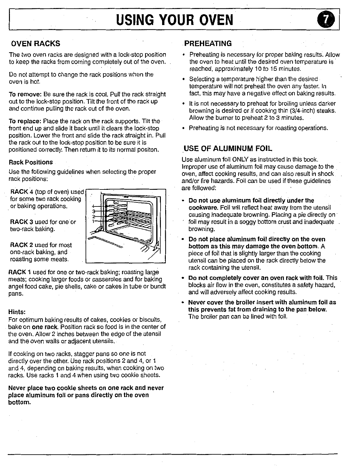 magic chef gas oven manual