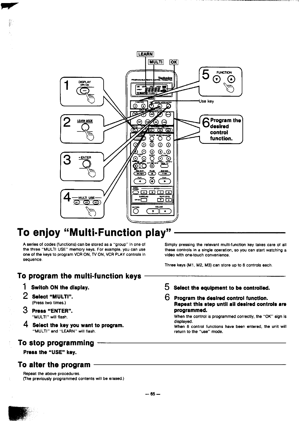 page 65 of technics stereo receiver sa gx910 user guide rh audio manualsonline com User Manual Kindle Fire User Guide