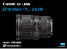 Camera Lens 16-35mm f/4.0L IS USM
