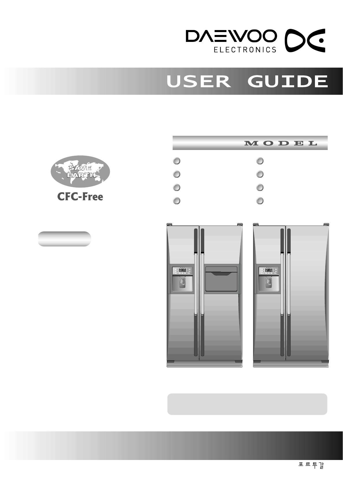 daewoo refrigerator frs 2031cal user guide. Black Bedroom Furniture Sets. Home Design Ideas