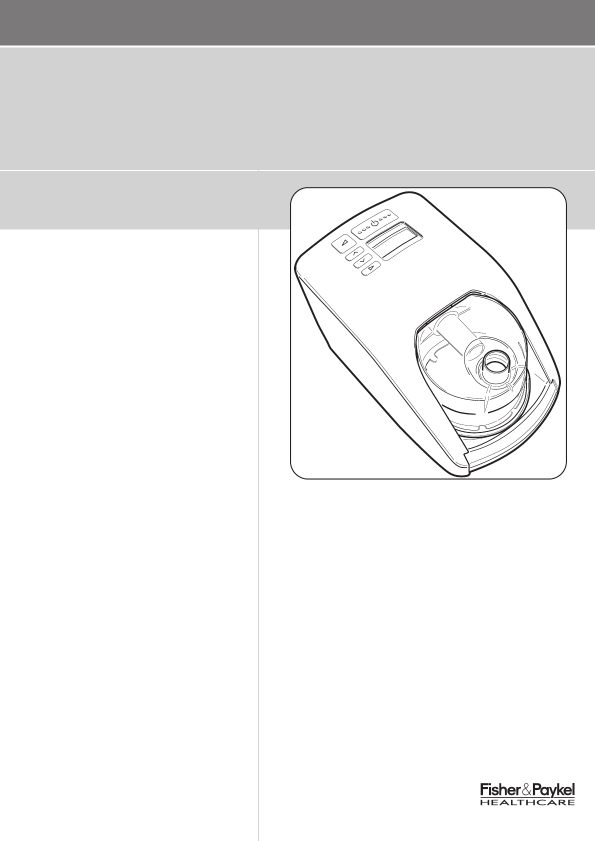 fisher and paykel cpap machine manual
