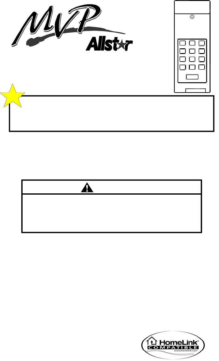 stoddart group garage door manual