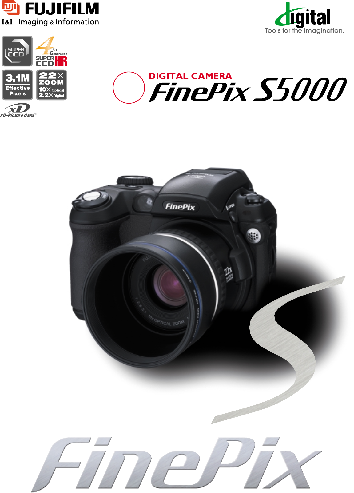 Fujifilm digital camera finepix s5000 user guide for Fujifilm finepix s5000 prix