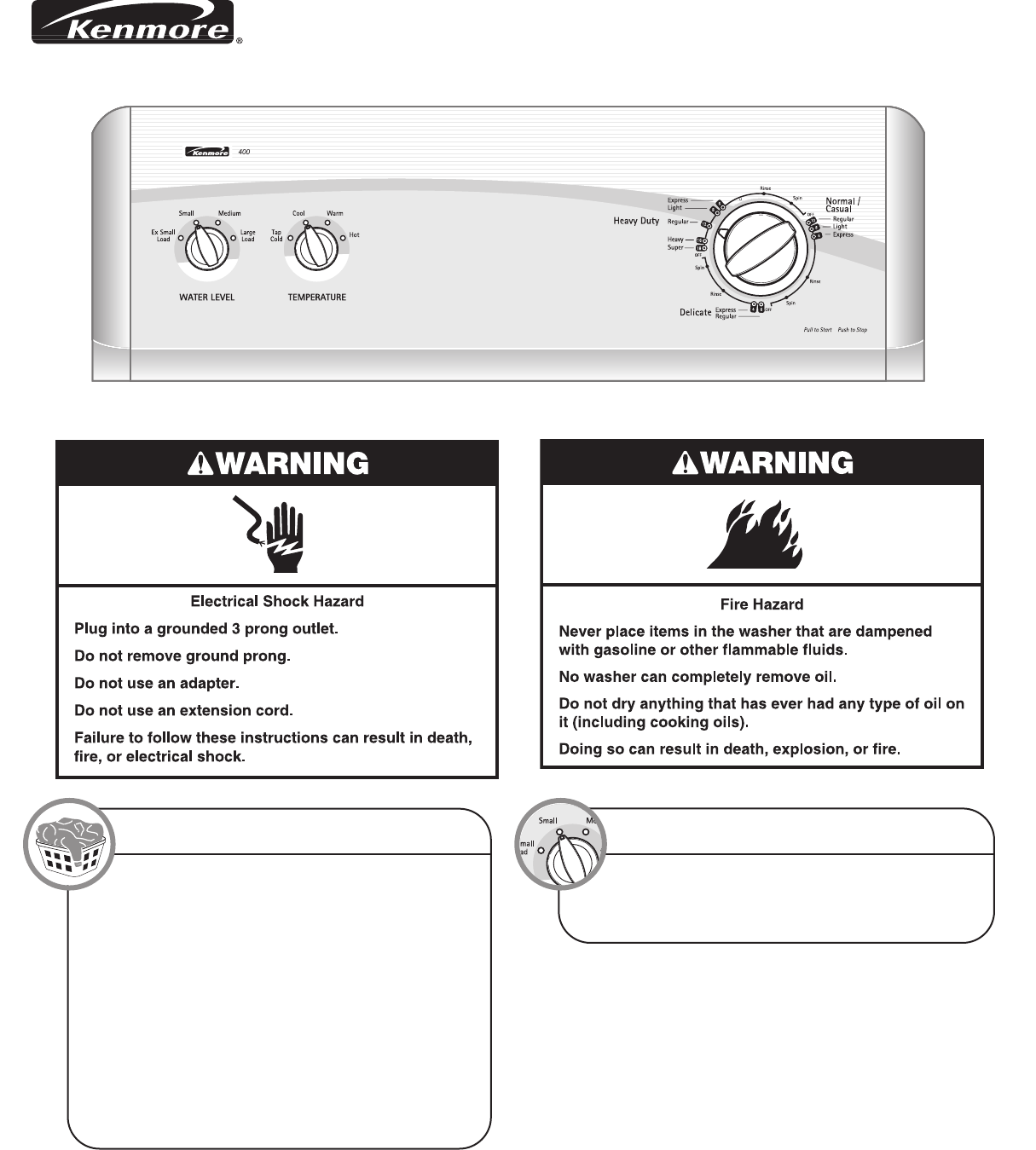 kenmore washer w10026671a user guide manualsonline com rh laundry manualsonline com kenmore washer user manual kenmore elite washer user guide