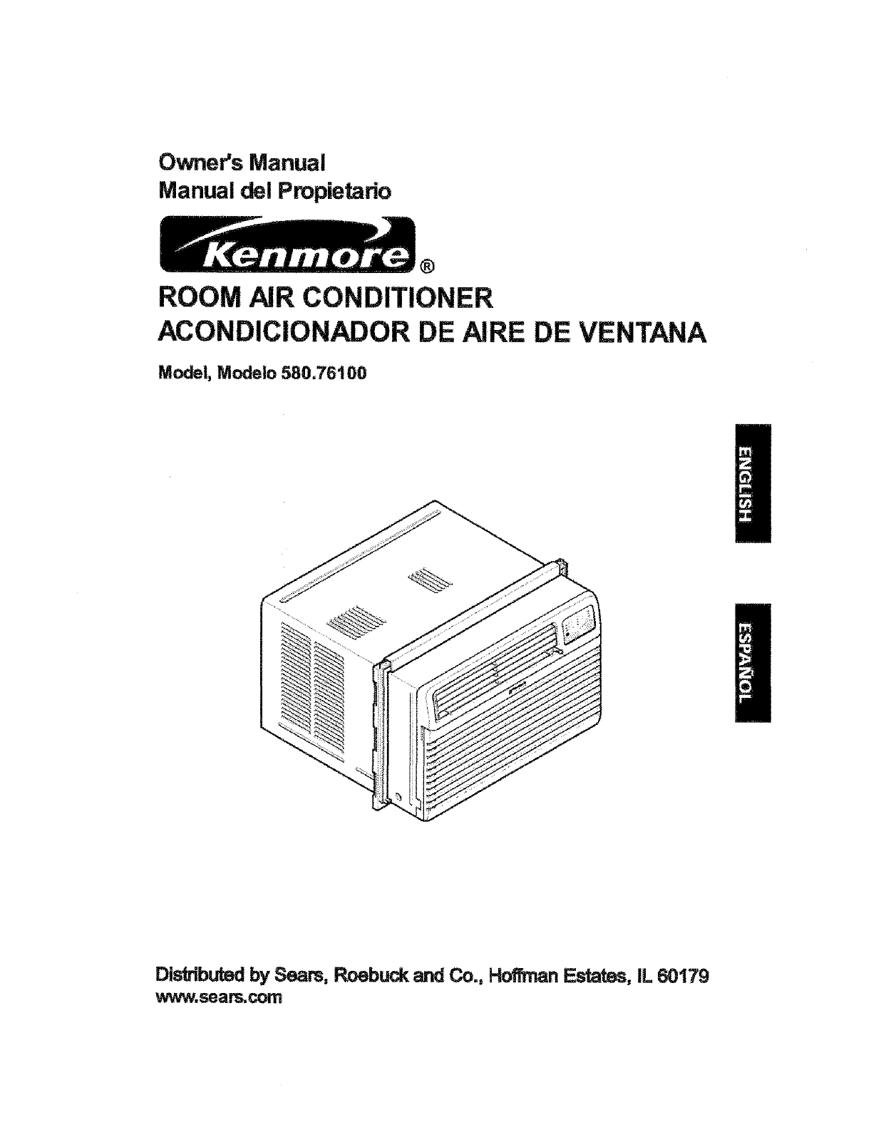 Kenmore Air Conditioner 580.76100 User Guide ManualsOnline.com #666666