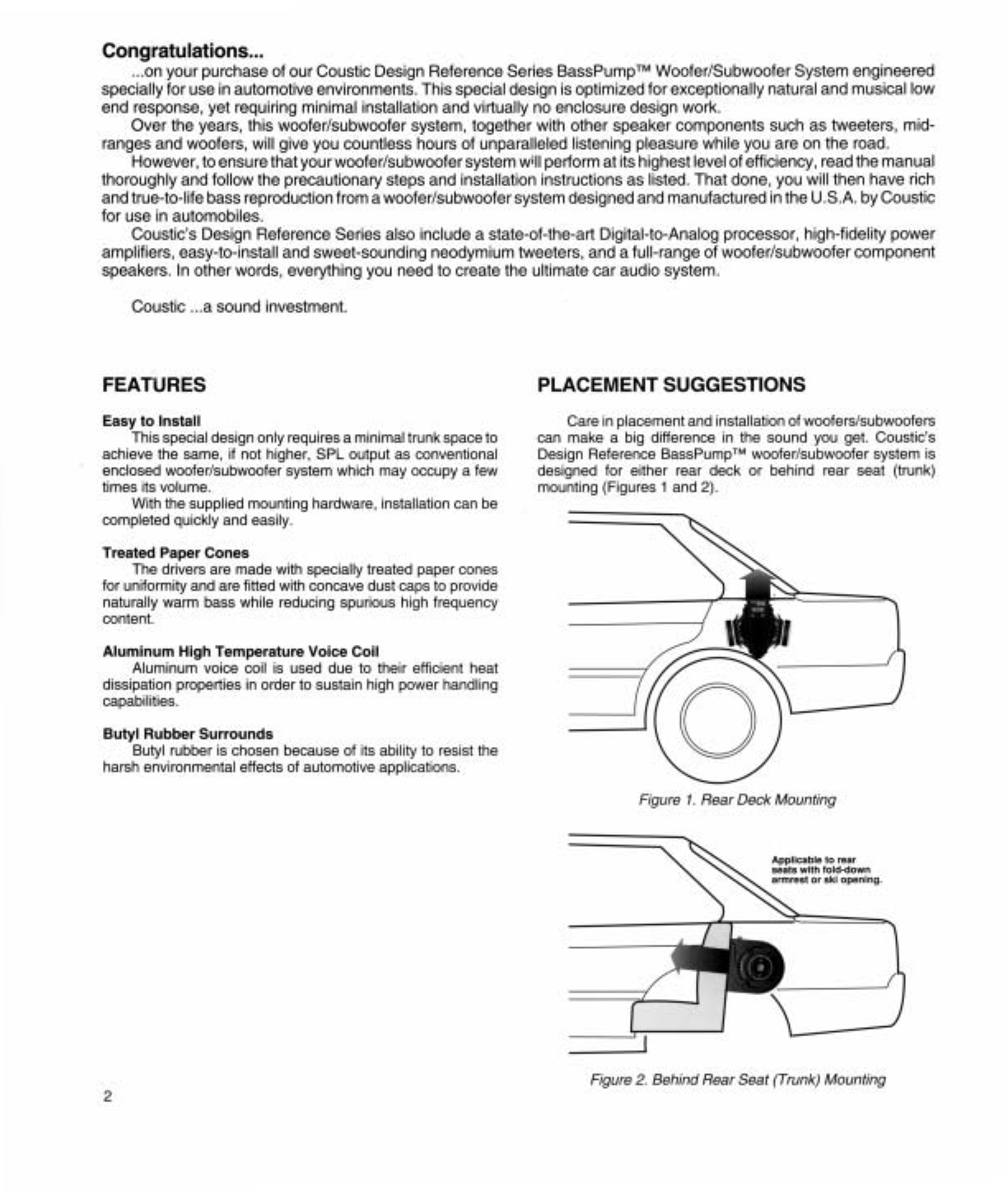 Page 2 of coustic speaker dr 328 user guide manualsonline of 6 publicscrutiny Choice Image