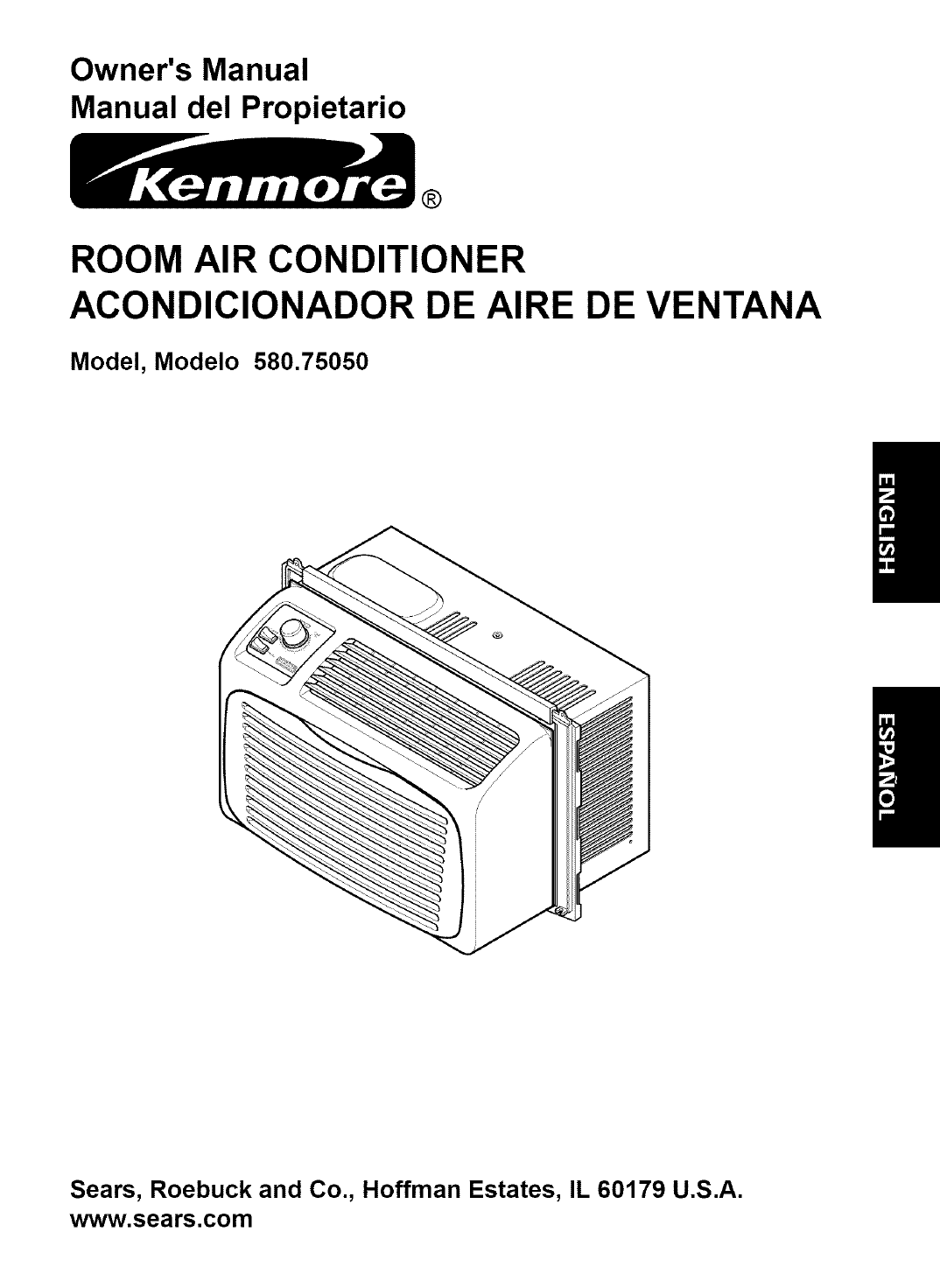 Kenmore Air Conditioner 580.75050 User Guide ManualsOnline.com #131313
