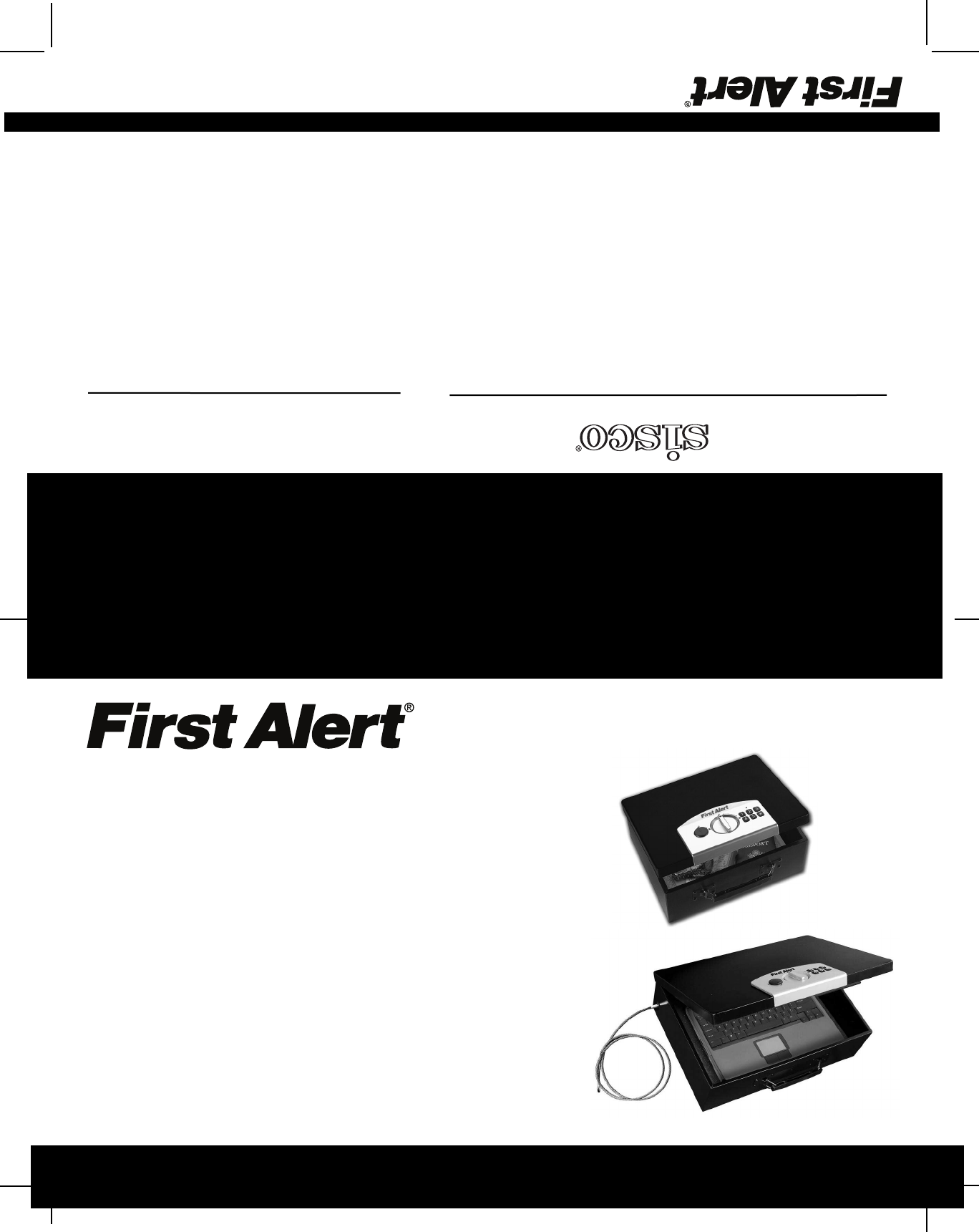 First Alert 3040DF Home Security System User Manual