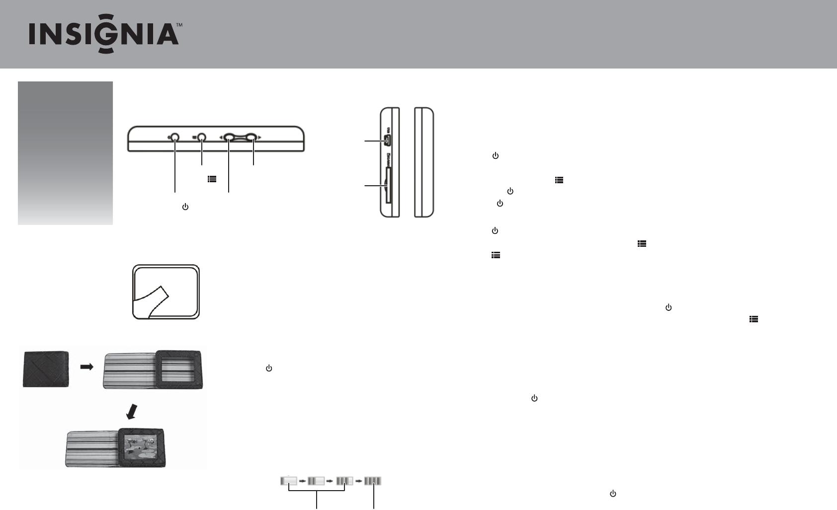 insignia digital photo frame ns dpf3g user guide manualsonline com rh camera manualsonline com Insignia TV Manuals User Manual Insignia Tablet