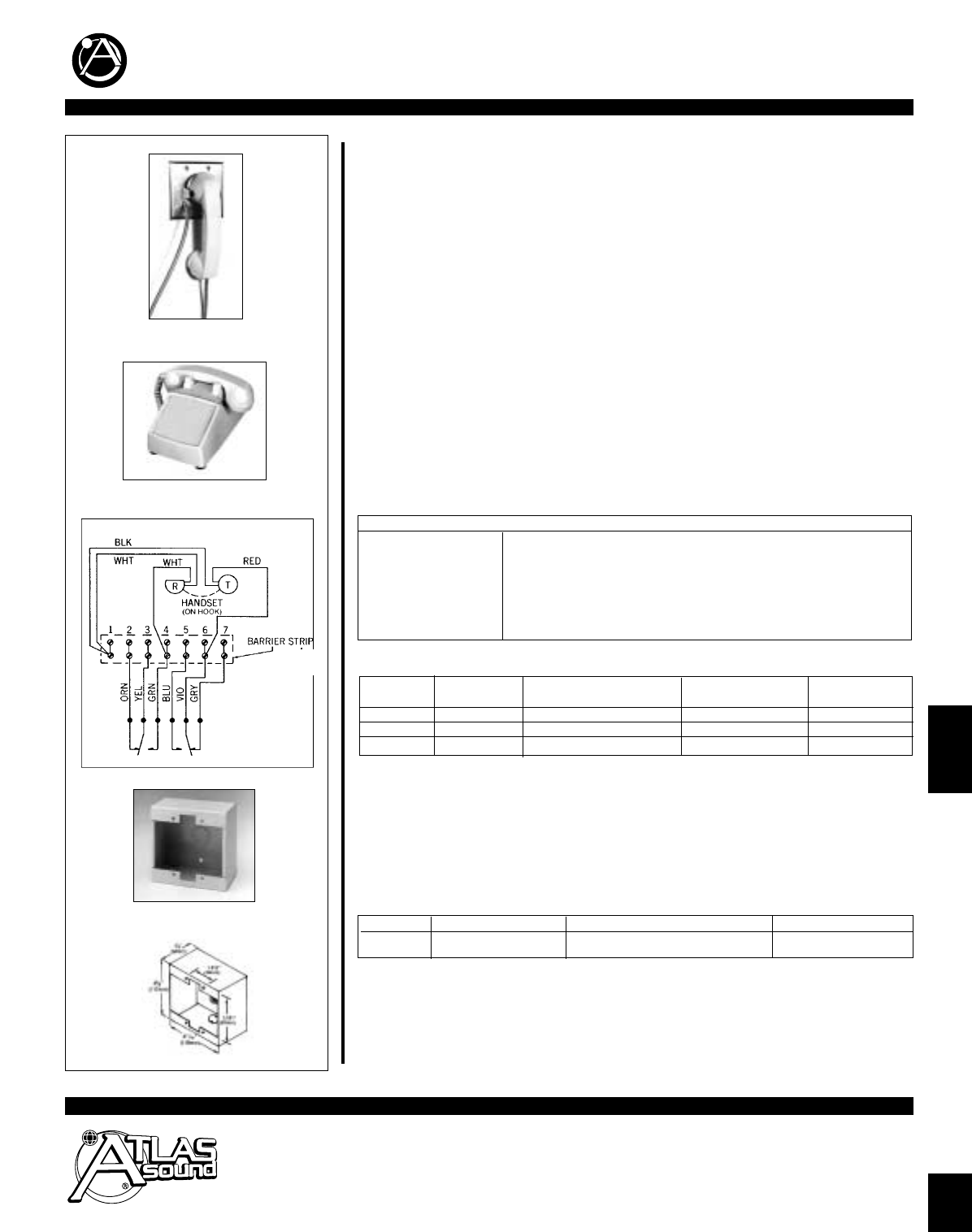 atlas intercom speaker wiring diagrams wiring diagram