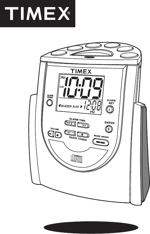 timex clock radio t622 user guide manualsonline com rh portablemedia manualsonline com timex indiglo night light alarm clock manual timex indiglo alarm clock instructions t436b