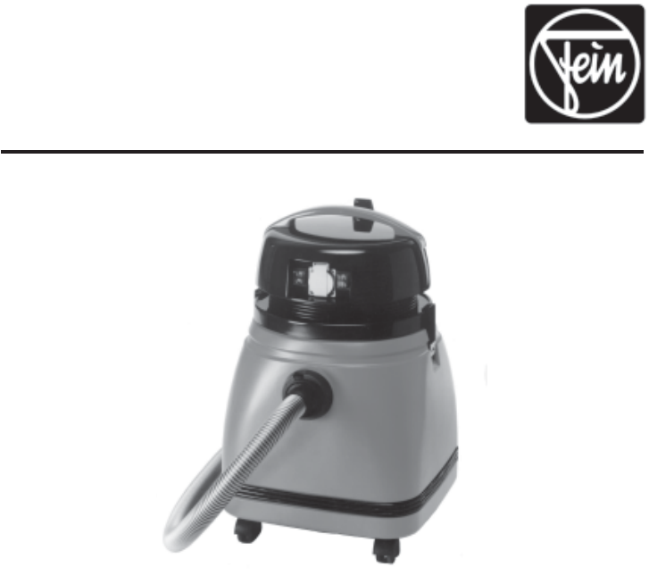 FEIN Power Tools Vacuum Cleaner 9 55 13 User Guide