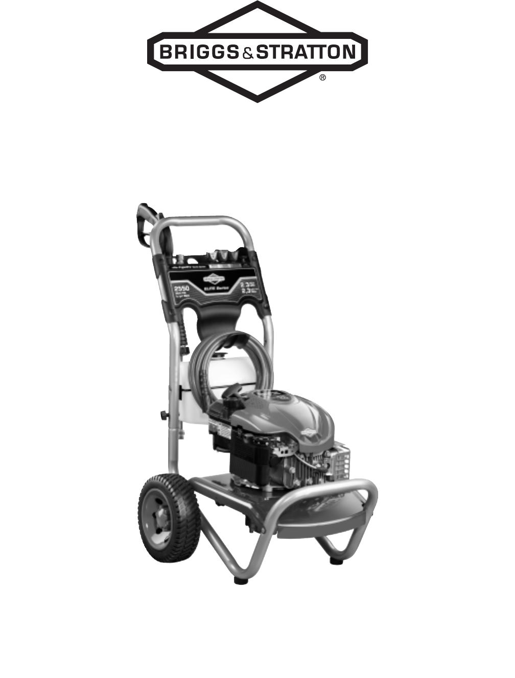 Husky gas 2600 psi pressure washer owners manual.