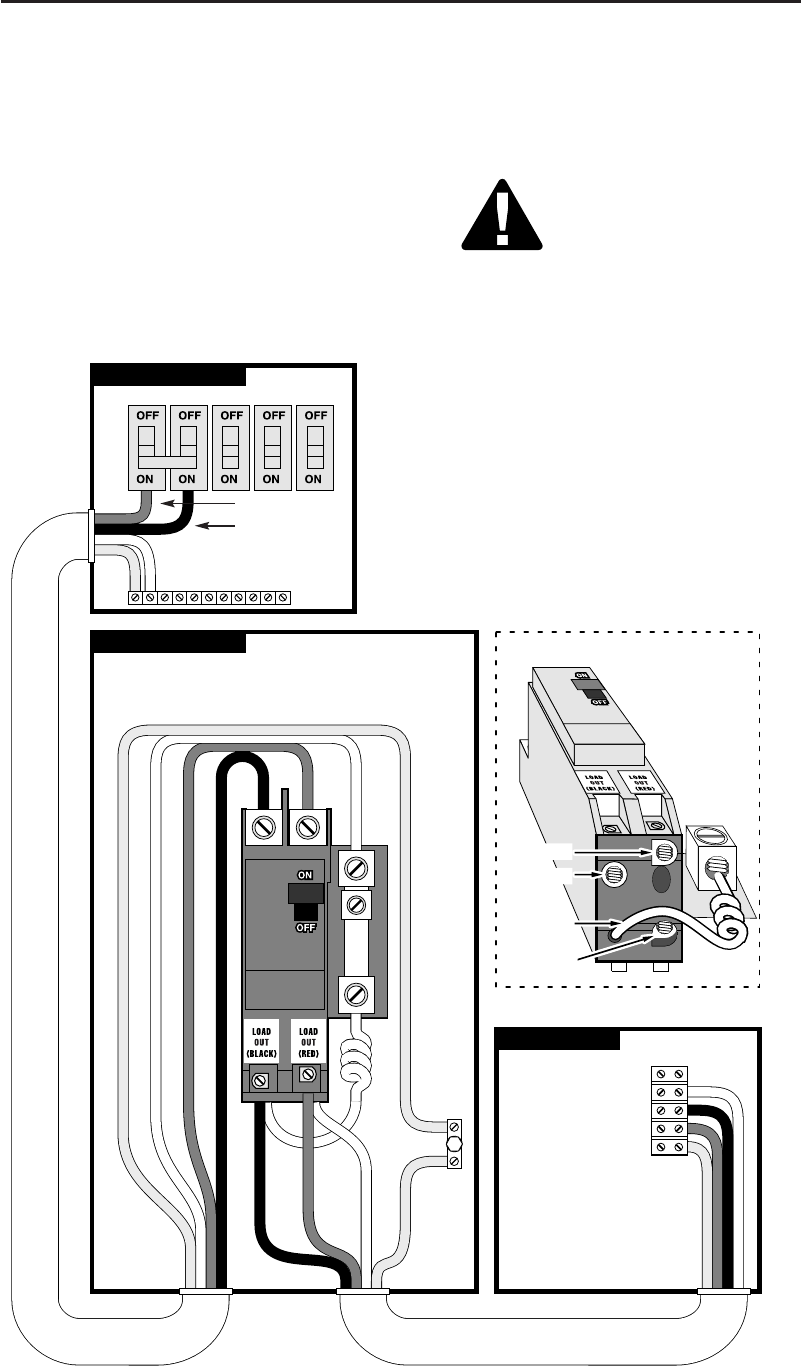 Breaker Load Center Wiring Diagram Auto Electrical Cole Hersee 956 9100 Switch 70 Square D Box For