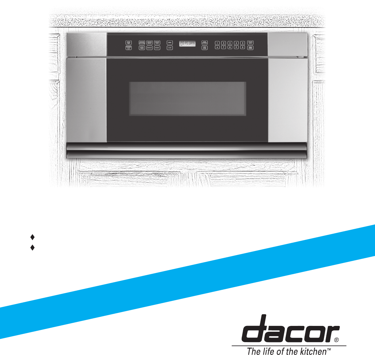 Dacor microwave oven mmdh30s user guide for Decor microwave
