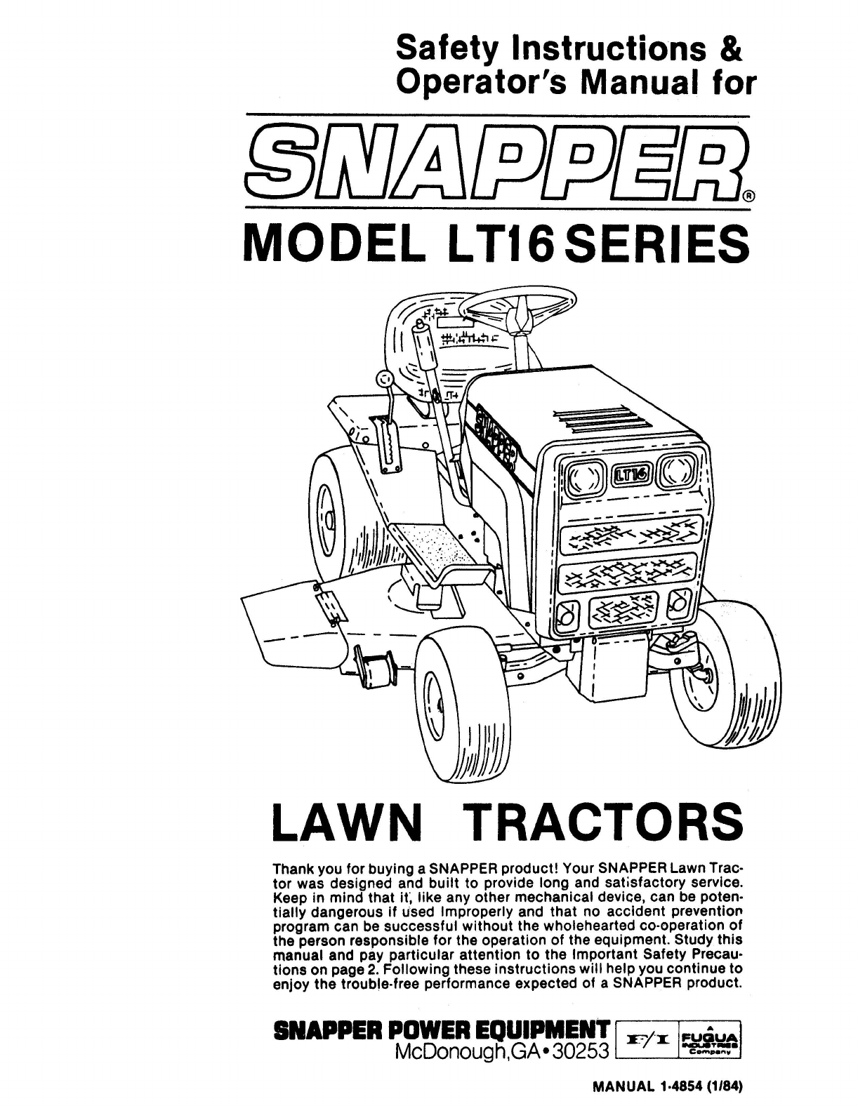49f59198 f9f3 9cd4 6165 0e53f896603b bg1 snapper lawn mower lt16 user guide manualsonline com snapper lt16 wiring diagram at fashall.co