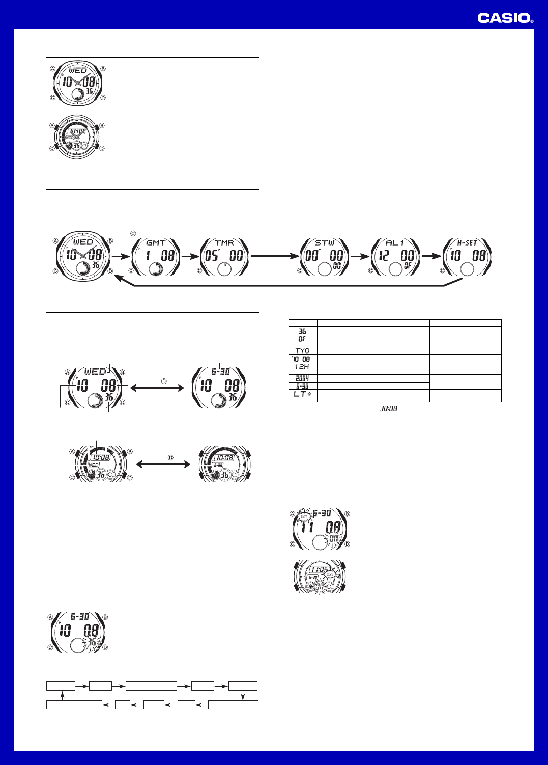 Casio Wr 100m Manual Product User Guide Instruction