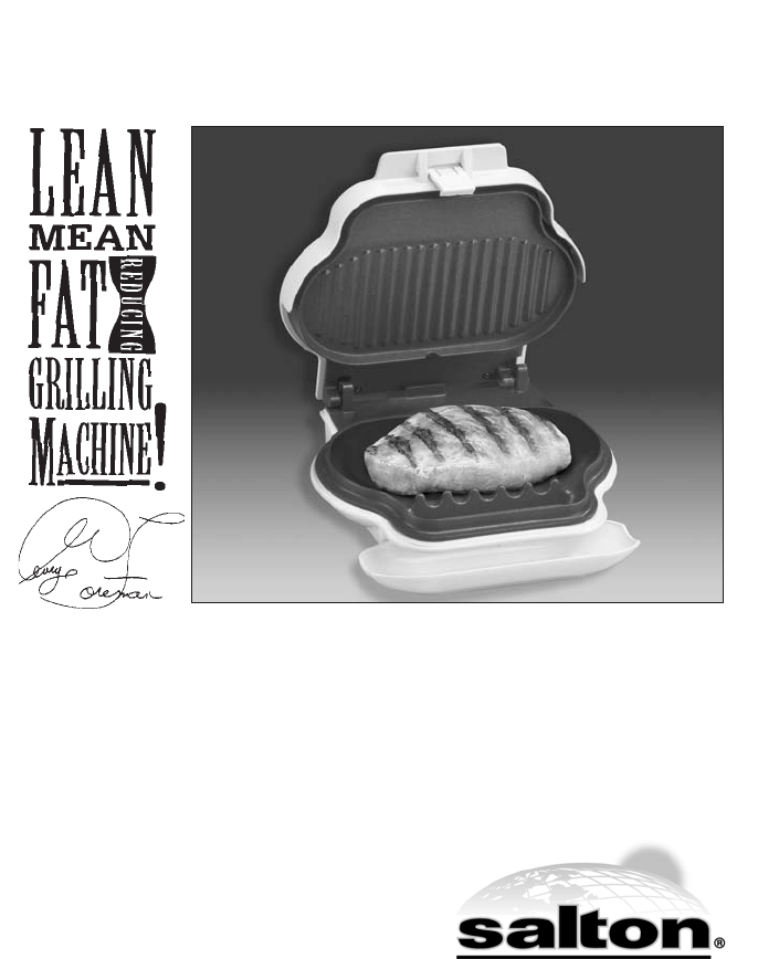 george foreman grill instructions