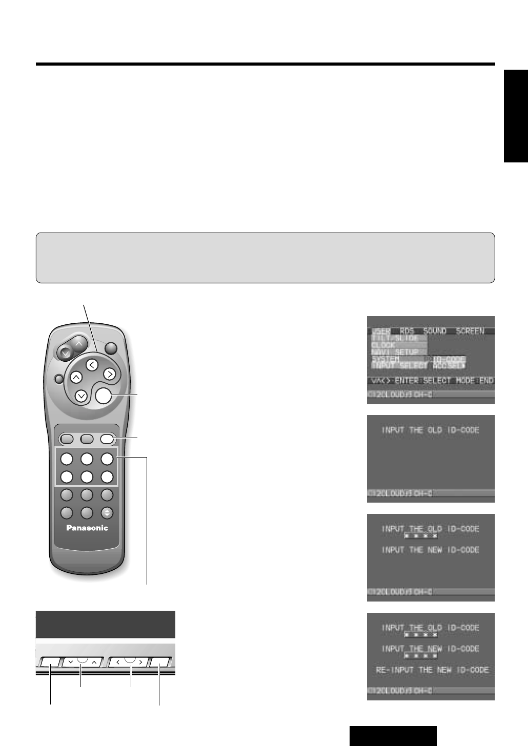 panasonic car video system user manual how to and user guide rh taxibermuda co Sony User Manual Guide Sony Operating Manuals