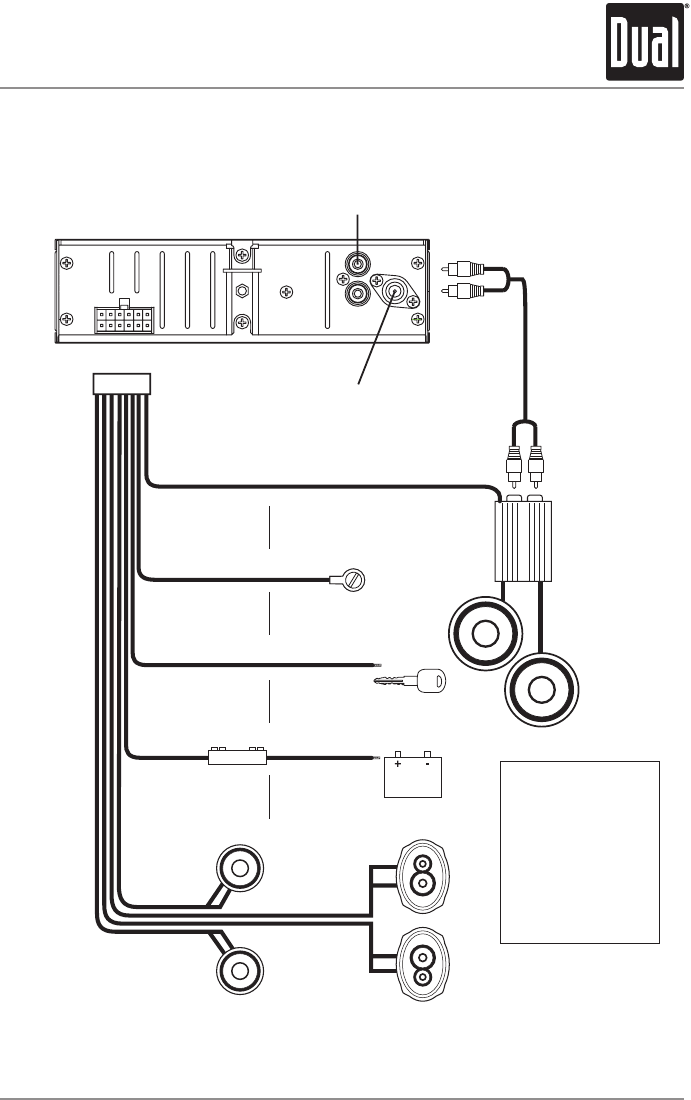 dual xd1222 wiring harness   26 wiring diagram images