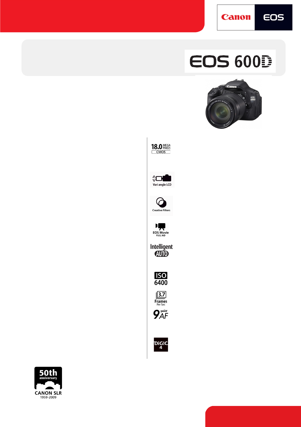 Canon Digital Camera EOS600D User Guide | ManualsOnline com