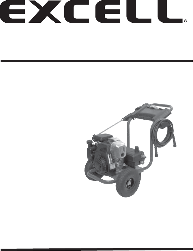 excell precision pressure washer xc2600 user guide manualsonline com