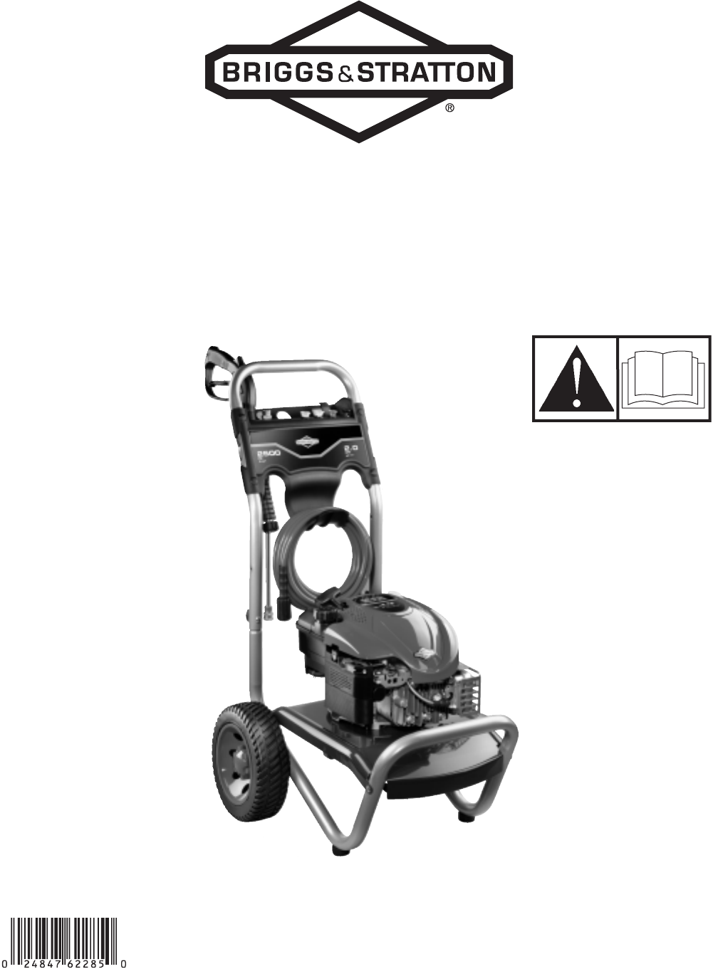 briggs stratton pressure washer 2500 psi user guide rh lawnandgarden manualsonline com Briggs and Stratton Engine Troubleshooting Briggs and Stratton Engine Numbers