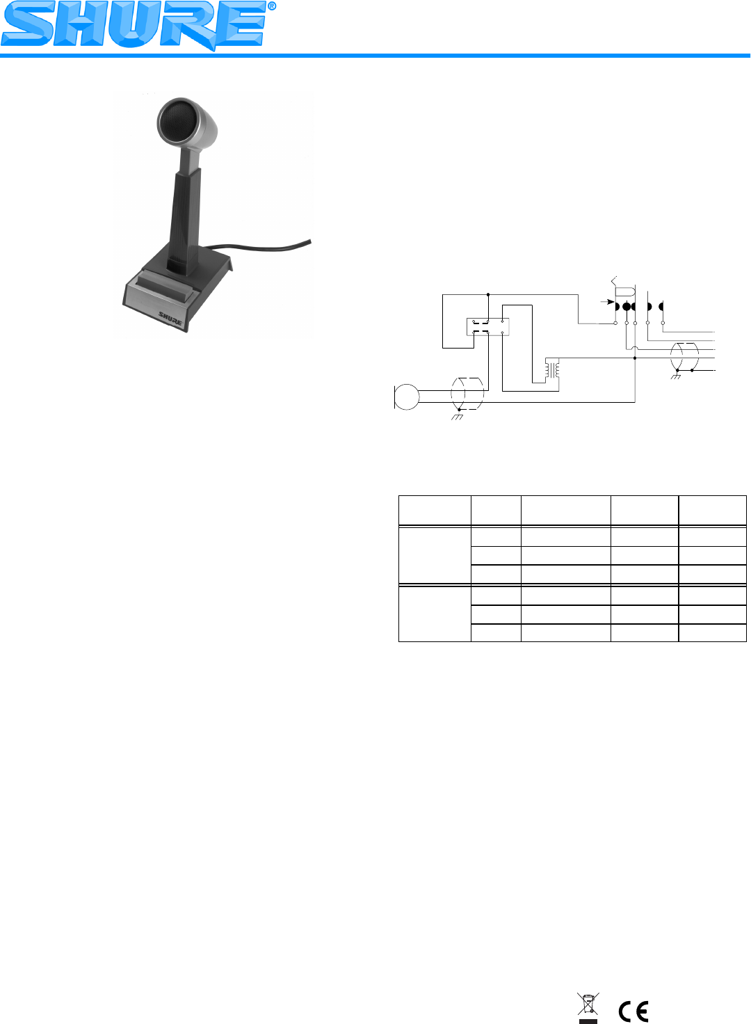 Shure Mic Wiring Diagram Books Of In Addition Xlr Microphone Further Connector 450 User Guide Manualsonline Com Rh Music Wireless