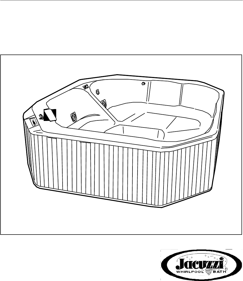 Jacuzzi Hot Tub Whirlpool Spa User Guide | ManualsOnline.com