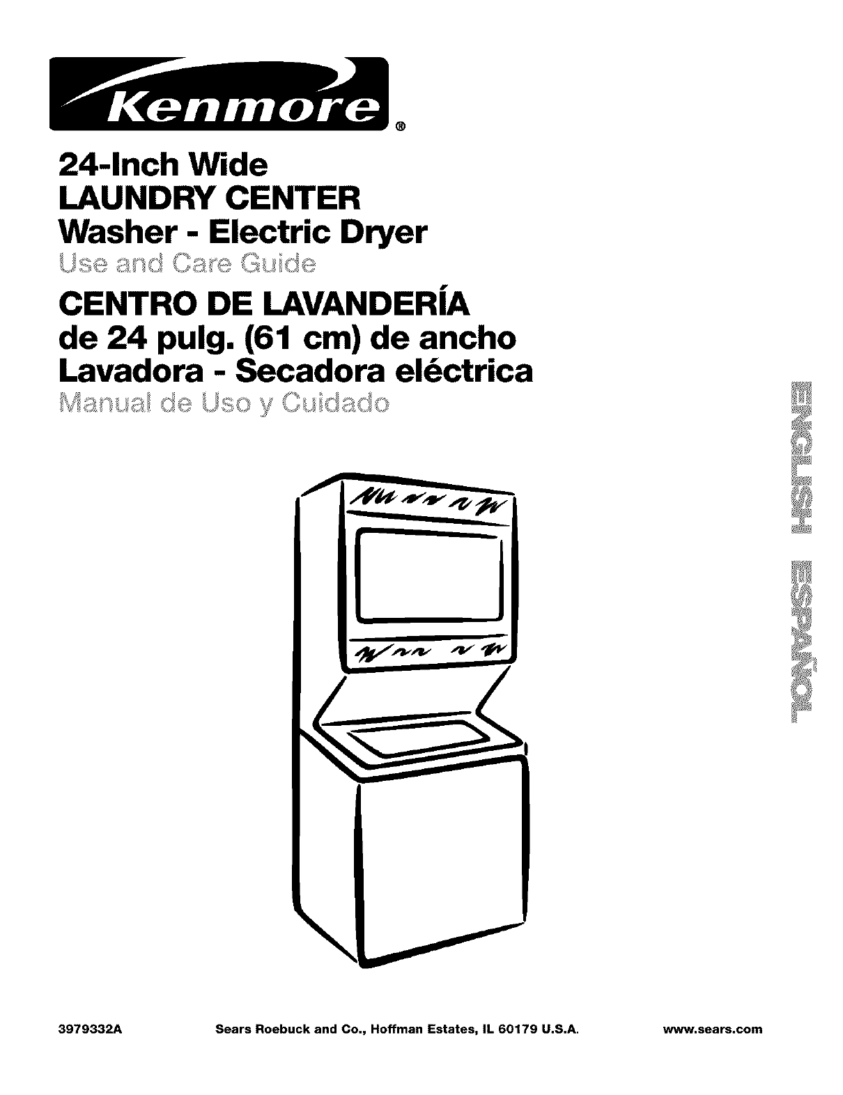 I Have A Kenmore Stackable Washer Dryer Model Manual Guide
