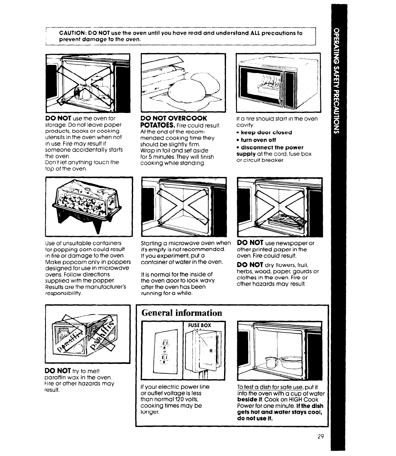 Page 29 Of Whirlpool Microwave Oven Mw8650xs User Guide Fire Fuse Box R