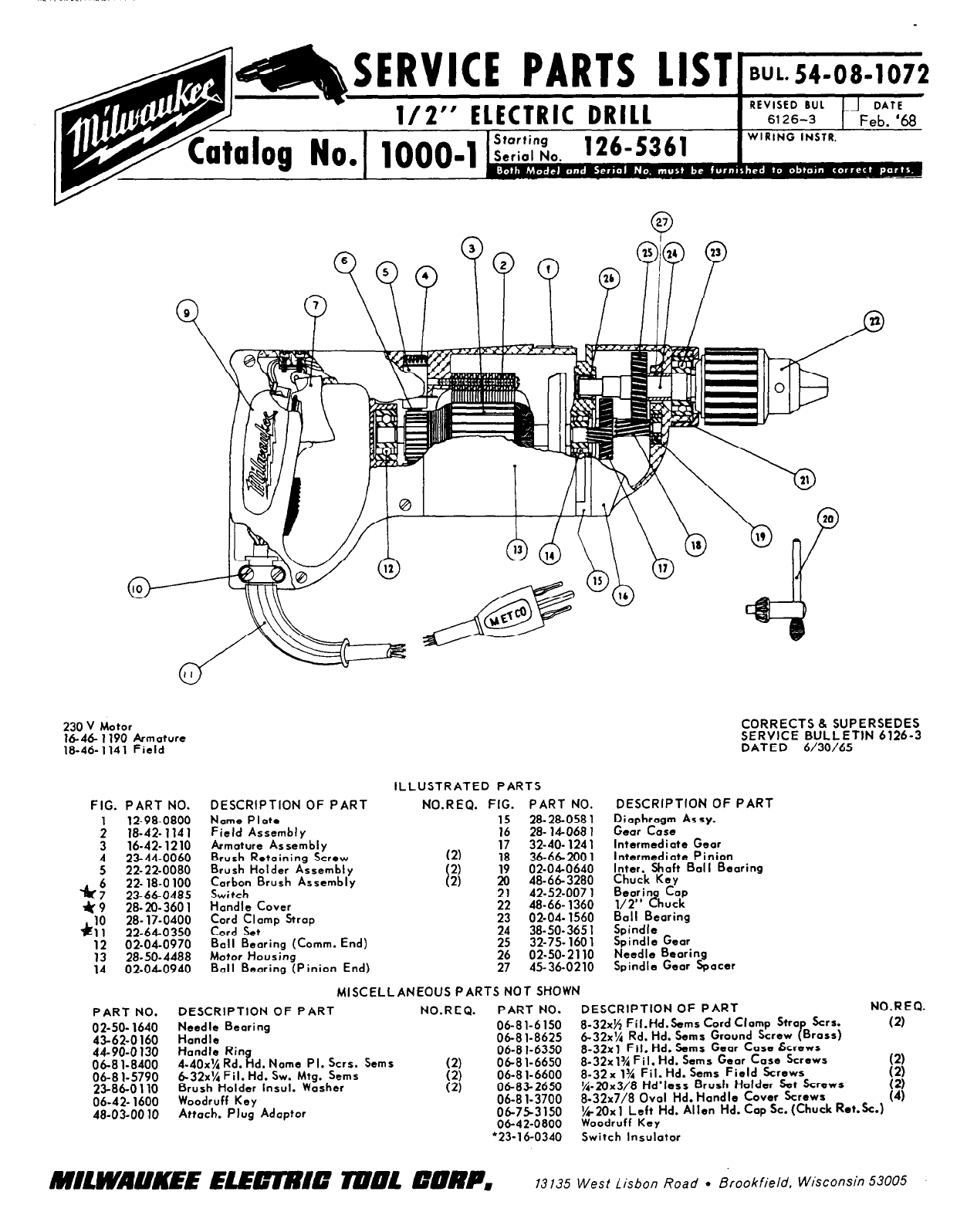 on ac wiring diagram electric drill