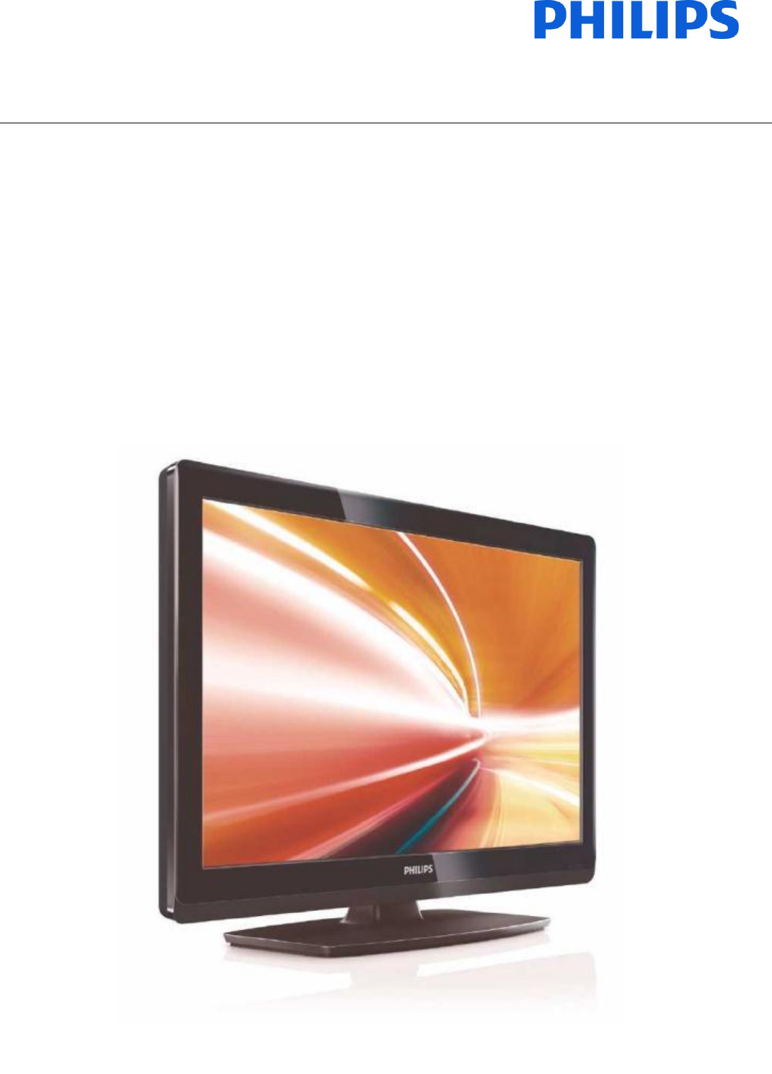 Philips Flat Panel Television 19HFL3233D/10 User Guide