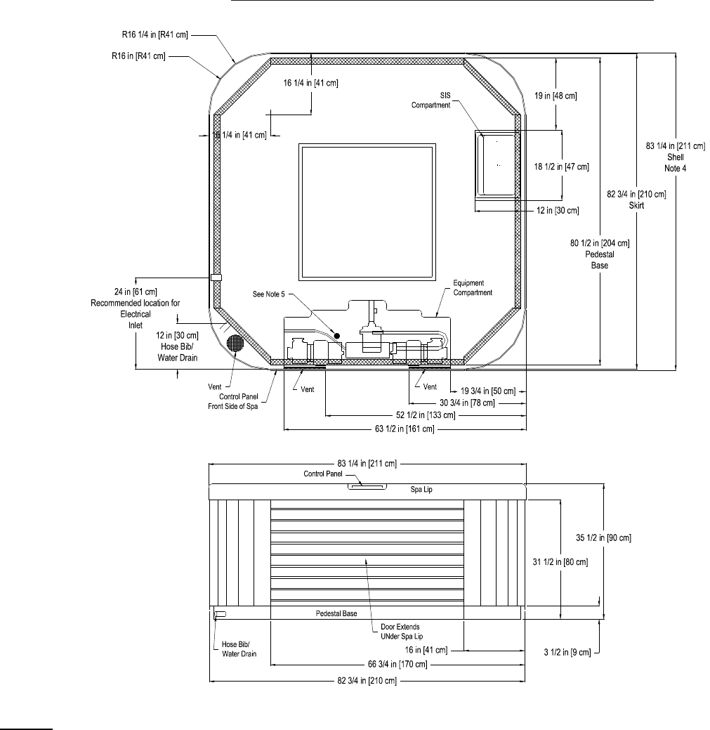Page 2 of dimension one spas hot tub aurora hp user guide - Jacuzzi 2 places dimensions ...