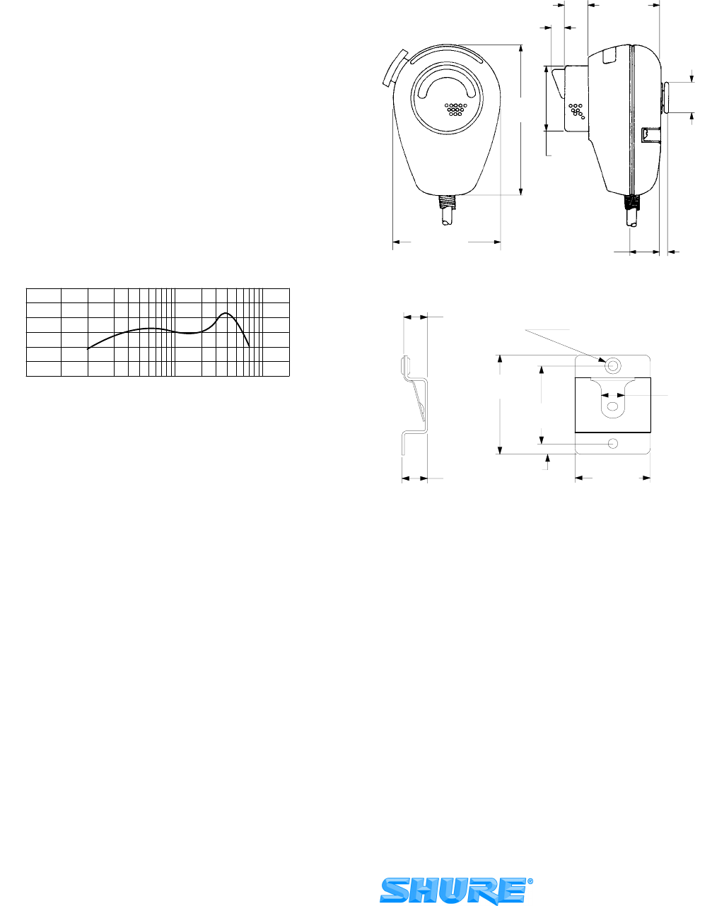 Page 2 Of Shure Microphone 577b User Guide Manualsonlinecom Wiring Diagrams