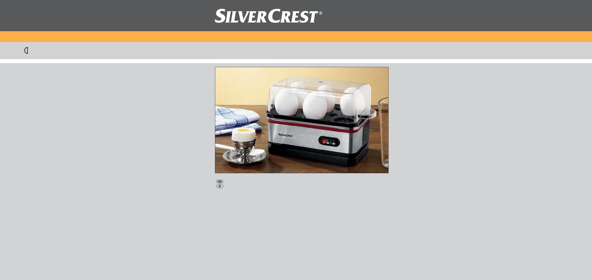 silvercrest egg cooker sekd 400 a1 user guide