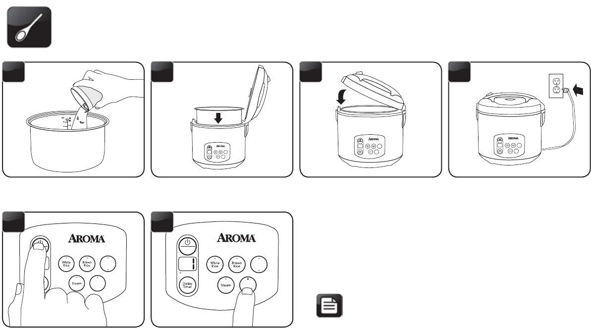 page 13 of aroma rice cooker arc 1030sb user guide manualsonline com rh kitchen manualsonline com Colorful Art Coffee Aroma
