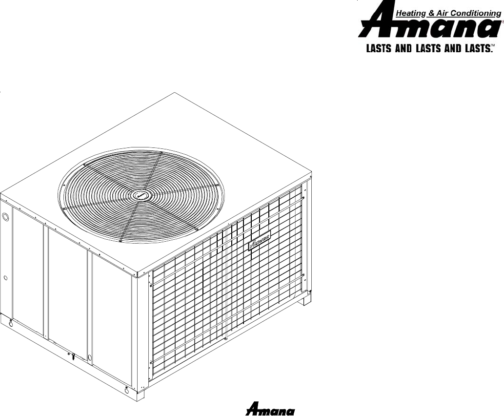 amana electric heater package heat pump user guide manualsonline com goodman company l p