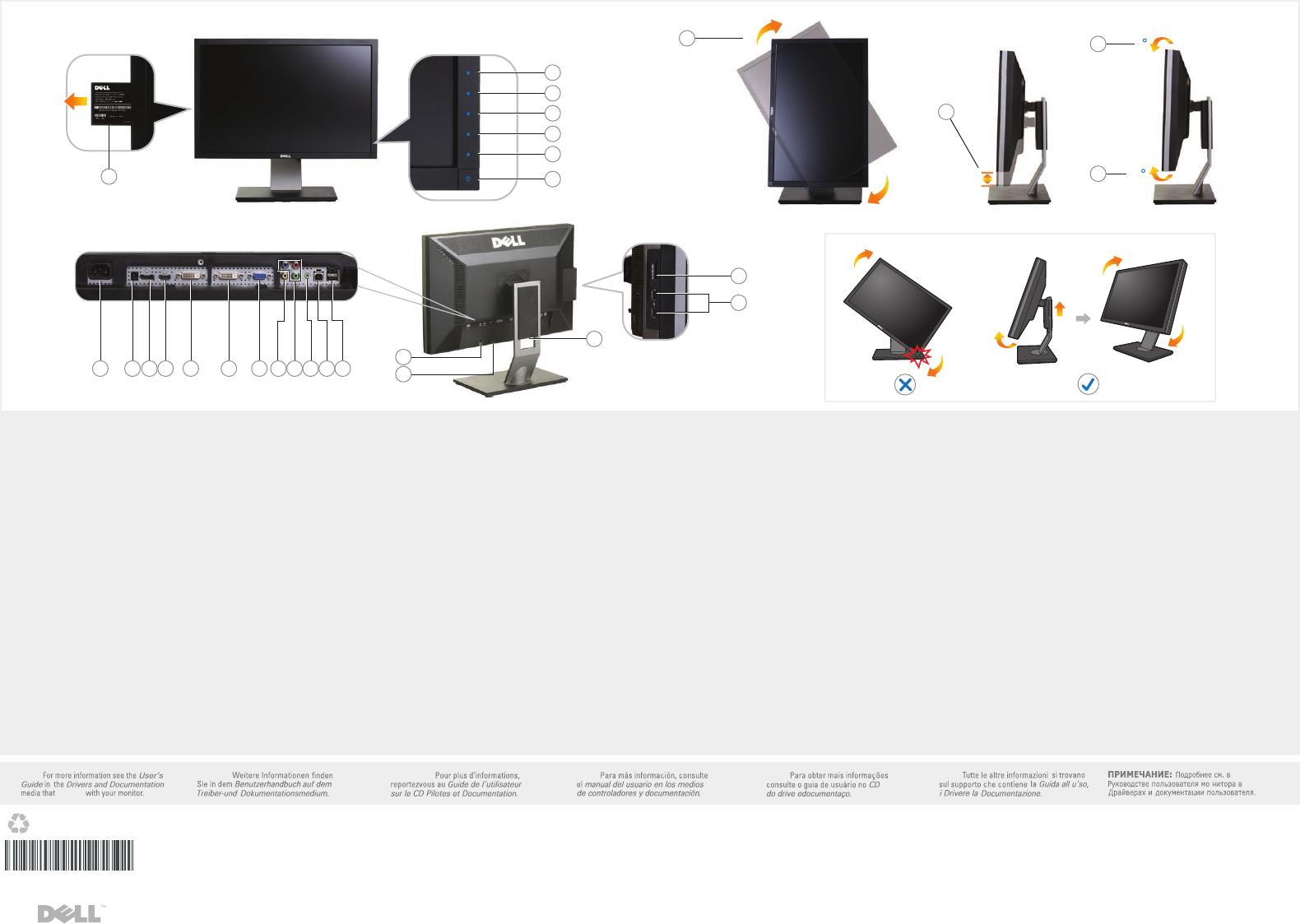 page 2 of dell computer monitor u2410 user guide manualsonline com rh office manualsonline com Dell U2412 Dell U2410 NIT