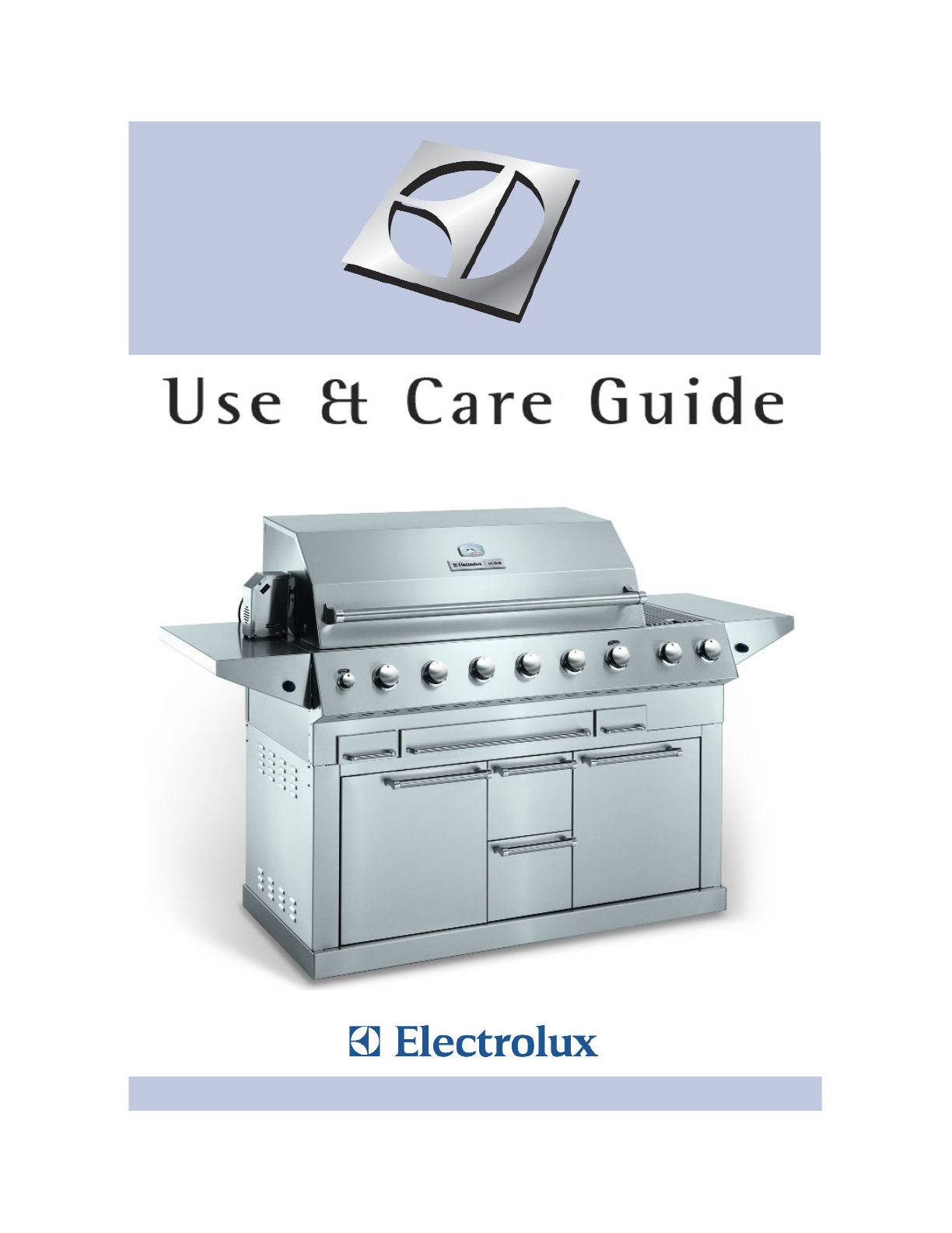 electrolux gas grill 57 stainless steel gas grill user guide rh outdoorcooking manualsonline com Electrolux Gas Grills Outdoor Electrolux Gas Grills Outdoor