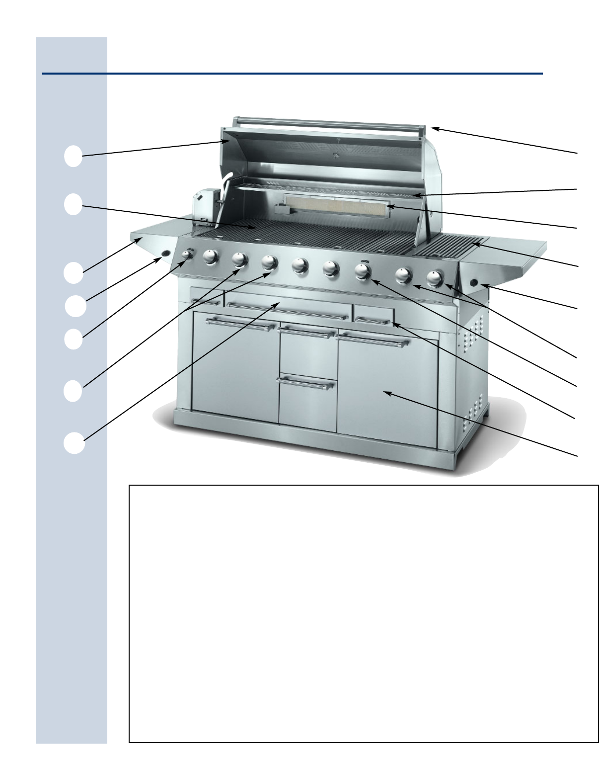 page 4 of electrolux gas grill 57 stainless steel gas grill user rh outdoorcooking manualsonline com 51-Inch Electrolux Gas Grill Electrolux Outdoor Grill